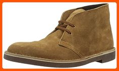 Clarks Men's Bushacre 2 Chukka Boot, Tobacco Suede, 11 M US - Mens world (*Amazon Partner-Link)