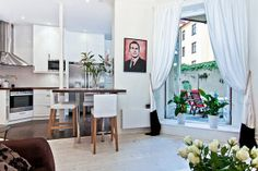 Charming Apartment Defined by Swedish Influences and Great Floor Plan
