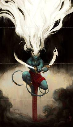 Demon, Lucas Parolin on ArtStation at http://www.artstation.com/artwork/demon-5403dee4-d75a-4207-afa3-1a051e49b6ac