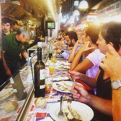 """16 Likes, 2 Comments - Andrea Rizzo (@andrea_rizzo6) on Instagram: """"#Barcelona #boqueria #market #fish #pinotxo #pinotxobar #Juanito #top #spettacolo #food #foodporn…"""""""