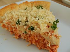 Skinny Chicken Parm Pie--Didn't use the parsley, but only because I was too lazy to buy it.