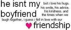 This is how I feel about one of my guy friends. This isn't meant to sound mushy towards my friend, but just like my other friends, I love the way our friendship works Crush Quotes, Love Quotes, Funny Quotes, Inspirational Quotes, Qoutes, Quotes Pics, Quotes Images, Famous Quotes, Picture Quotes