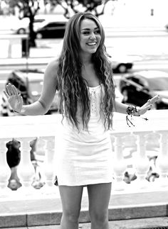 I think Miley is so pretty! :) People like to hate on her, but i think she's beautiful anyway.