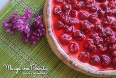 Bringebær Kake - Tarte de Framboesa, sobremesa perfeita para ser feita para alguém especial. Para ver a receita desta Torta de Framboesa, clique na imagem para ir ao blog Manga com Pimenta.