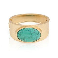 Santafina   Bracelete D`or Turquoise
