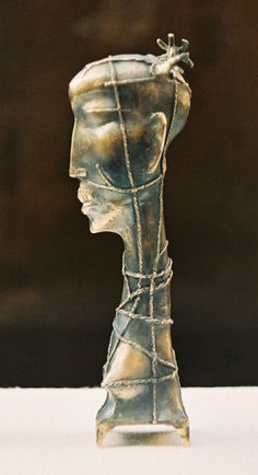 Decorative bronze sculpture.  Lost wax casting.  285 mm height  Nr 2 from 5 copies      Photos are by S.Didyk