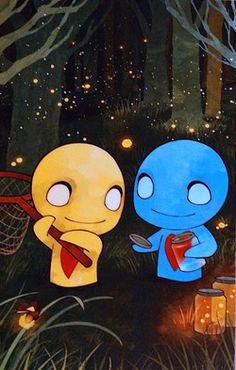 #Pon #Zi #fireflies Pon and Zi
