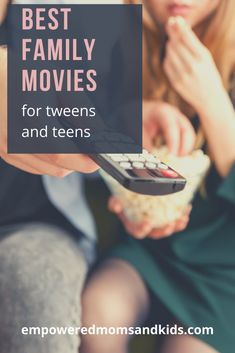 Best family movies for tweens and teens. Get the ultimate list of movies for tweens and teens that your family will love.