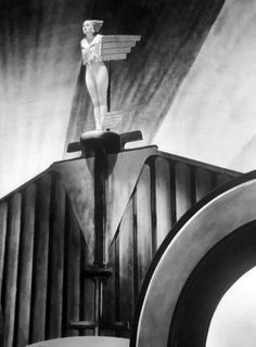 """Corinne Griffith as the """"Spirit of Ecstasy"""" in the year 2500 A.D. in Lilies of the Field (1930)"""