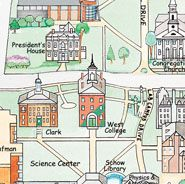 Williams College Campus Map Pioneer Valley The Berkshires - Williams college campus map