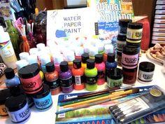 Art Journal 'must have' supplies list