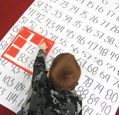 First Grade Wow: Where did those digits go? (Hands-on practice with the 120 chart)