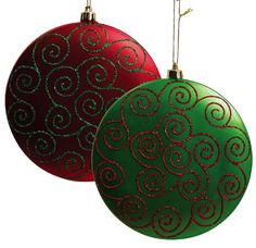 $15.99-$25.34 Plastic Christmas Ornament 2 Assorted - Add warmth and whimsy to the room, whether tucked within the branches of your Christmas tree or hanging upon the wall. Perfect to use year after year, these pieces are enchanting. http://www.amazon.com/dp/B005HATZO0/?tag=pin2wine-20