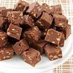 Three-Chocolate Fudge