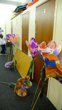 Sticky tape and willow lanterns