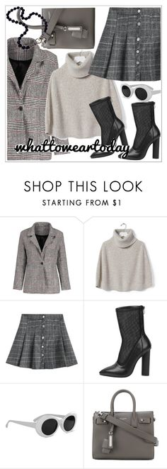 """What to Wear"" by teoecar ❤ liked on Polyvore featuring Banana Republic and Yves Saint Laurent"