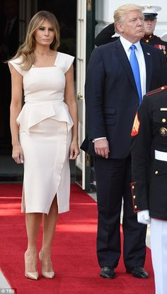3ed4bb22b Melania returns to White House after defending Donald over Mika tweets