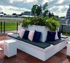 Plant hire, Landscaping and custom builds Melbourne - Event Plants Outdoor Sectional, Sectional Sofa, Outdoor Furniture, Outdoor Decor, Sun Lounger, Melbourne, Landscaping, Building, Plants