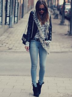 Street style - denim