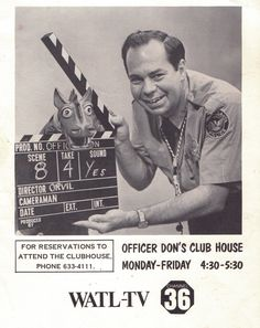 Popeye Club!  Anyone remember Officer Don and Orville?