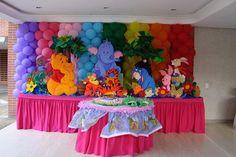 cumpleaños de 1 año winnie pooh - Buscar con Google