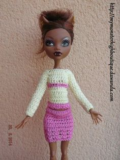Ropa de Monster High s378 de My Monster High boutique por DaWanda.com