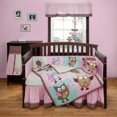 owls!  If my next baby is a girl she is totally having an owl themed bedroom.