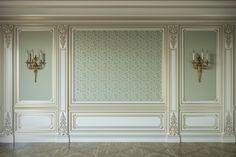 Home Room Design, Home Interior Design, Living Room Designs, House Design, Wall Panel Design, Luxury Homes Interior, Classic Interior, Beige Walls, Ceiling Design