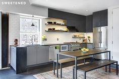 62 Ideas Kitchen Cabinets Makeover Renovation Before After Apartment Therapy For 2019 Apartment Therapy, Modern Kitchen Renovation, Kitchen Modern, Modern Kitchens, Kitchen Ideas, Kitchen Dining, Kitchen Cabinets, Open Kitchen, Dining Room