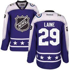 Men S Winnipeg Jets 29 Patrik Laine Purple 2017 All Star Central Division Sched Nhl