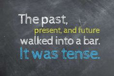 The past, present, and future walked into a bar. It was tense. - Tatiana Ayazo/Rd.com