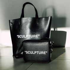 """""""SCULPTURE""""    Off-White womenswear and women's accessories now in UNIVERS.    @off___white  #AllNewUNIVERS  #UNIVERS Uni, Women's Accessories, Ted Baker, Off White, Women Wear, Social Media, Sculpture, Tote Bag, Bags"""