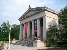 Cincinnati Art Museum in Eden Park, Cincinnati, Ohio