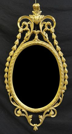 A Pair of George III Giltwood Mirrors CIRCA 1780