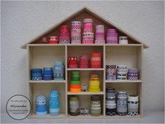 Miranda's Creaties - Washi tape storage