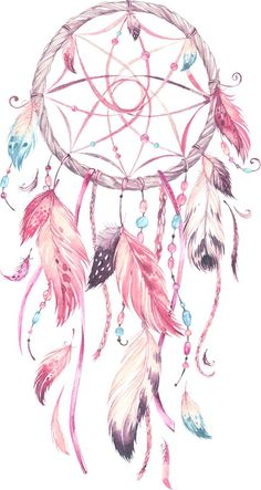 45 Easy and Simple Watercolor Painting Ideas, Dream Catcher Drawing, Dream Catcher Tattoo, Dream Catcher Boho, Dream Catcher Painting, Dream Catcher Watercolor, Dream Catcher Images, Dream Catcher Patterns, Dreamcatcher Wallpaper, Boho Dreamcatcher