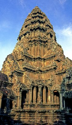 Temple at Angkor Wat, Angkor, Cambodia. #travel #travelinsurance #iloveinsurance See the world. Do your travel insurance comparison online, save time, worry, and loads of money. http://www.comparetravelinsurance.com.au/