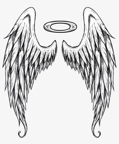 Pin by mary cruz on ideas for the house angel wings drawing, wing tattoo de Angel Wings Art, Angel Wings Tattoo On Back, Fallen Angel Tattoo, Angel Wings Drawing, Wing Tattoos On Back, Heart With Wings Tattoo, Lower Back Tattoos, Wings Of Angels, Angel Wing Tattoos