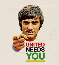 George Best (Football) British Football, Best Football Team, Manchester United Legends, Manchester United Football, Bobby Charlton, Sports Figures, Man United, Soccer Players, The Unit