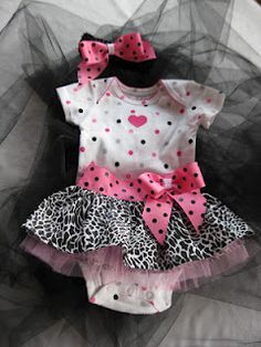 Super adorable infant tutu tutorial