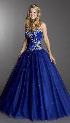 This was my dream dress but in a crystal light blue color. Oh well i got something better.
