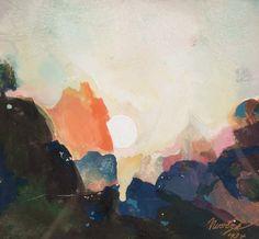 Mountain Sunrise, Maynard Dixon 1875-1946
