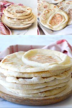 Easy Flatbread - #Easy #Flatbread Fun Easy Recipes, Snack Recipes, Dessert Recipes, Easy Meals, Light Recipes, Vegan Recipes For Beginners, Maseca Recipes, Beginner Baking Recipes, Healthy Recipes