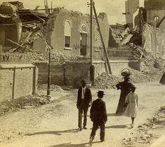 Holy Trinity Church After 1907 Earthquake, Kingston, Jamaica by The Caribbean Photo Archive, via Flickr