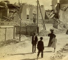 Holy Trinity Church After 1907 Earthquake, Kingston, Jamaica by The Caribbean Photo Archive, via Flickr