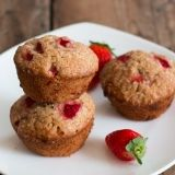 Strawberry Citrus Muffins