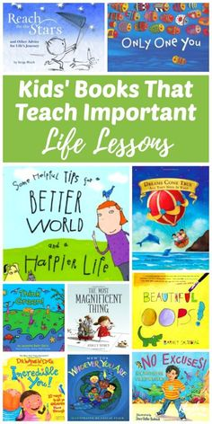 During the many years that I have been reading books to children as a childcare worker, teacher, and parent, these classics have stood out as some of the very best. The profound lessons shared in each simple story make parenting a bit easier to navigate. Kids Reading, Teaching Reading, Reading Books, Teaching Kids Manners, Preschool Books, Book Activities, Sequencing Activities, Good Books, Books To Read