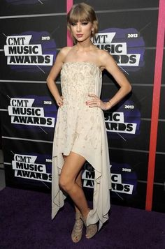 Taylor Swift at the 2013 CMT Music Awards held at The Bridgestone Arena in Nashville, TN on June 5, 2013