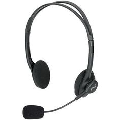 Micro Innovations Lightweight Multimedia Headset With Mic (pack of 1 Ea)