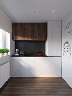 Кухня и столовая в стиле Минимализм – фото и статьи, вдохновляющие идеи по дизайну интерьеров, квартир, домов и офисов. Галереи фотографий работ по декору, архитектуре.